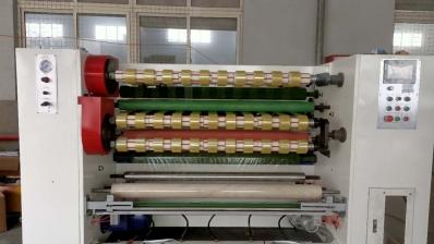 自动贴标胶带分条机